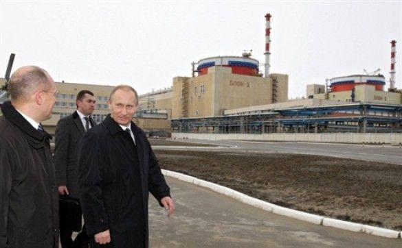 Путін на Волгодонській АЕС