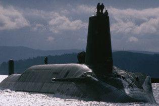 ВМС Британії відігнали від своїх берегів російську субмарину-шпигунку