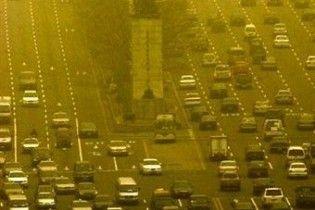 Пилова буря накрила Пекін