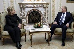 """Путін """"яскравими словами"""" розповів Клінтон про Україну"""