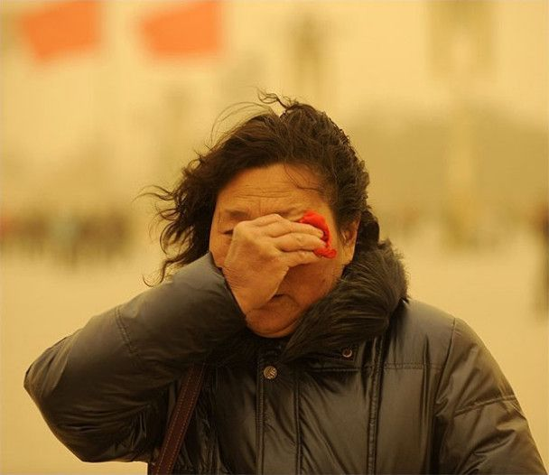 Пекін накрила піщана буря