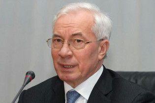 """Азаров провів переговори з главою """"Газпрому"""""""