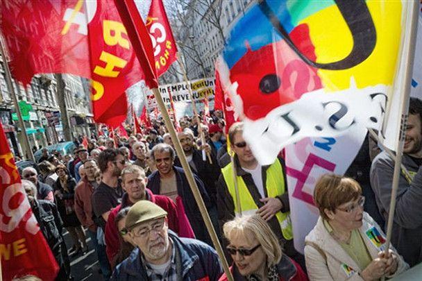 Масовий страйк держслужбовців у Франції