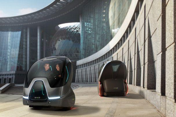 General Motors пересадить автомобілістів на самокат зі штучним розумом