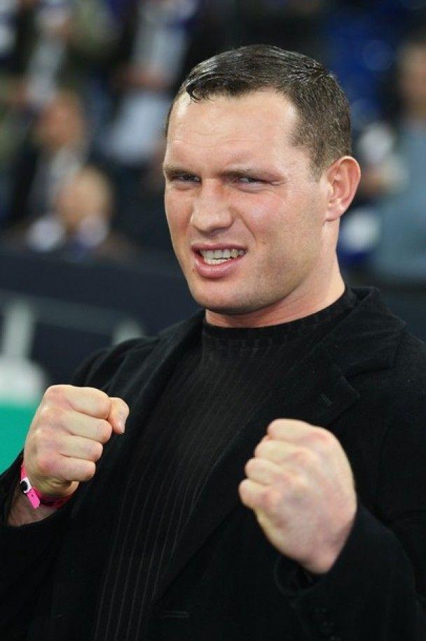 Кличко і Сосновськи зустрілися на місці майбутнього бою