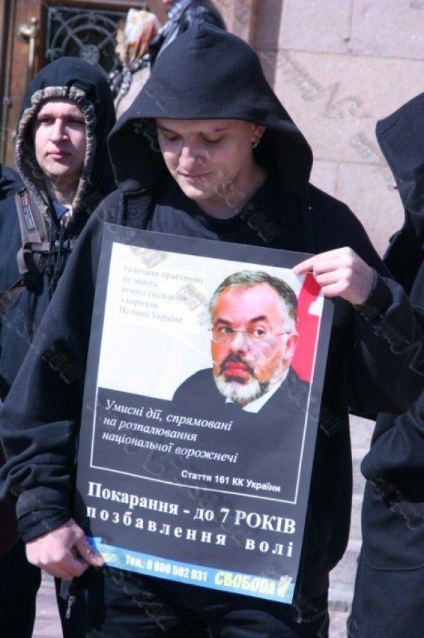 У Миколаєві мітинг проти Табачника переріс у масову бійку