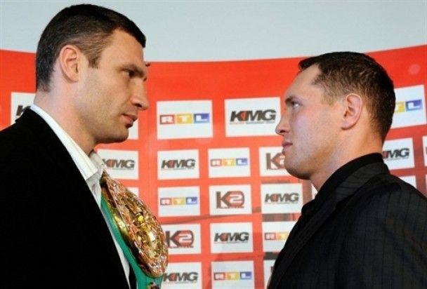 Віталій Кличко: мій тренер знає моє тіло краще, ніж дружина
