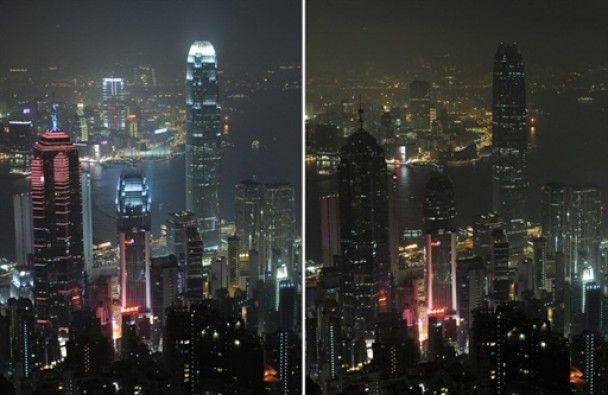 """""""Година Землі"""" занурила у пітьму Ейфелеву вежу і Манхеттен"""