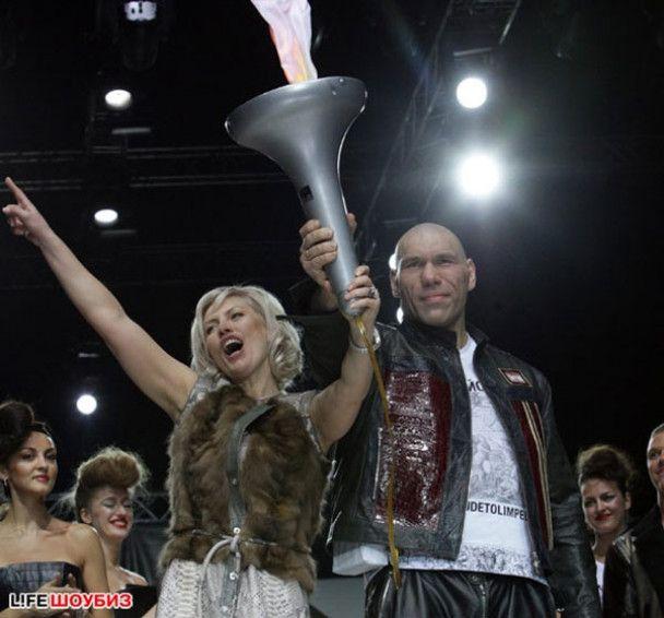 Валуєв проміняв боксерський ринг на подіум