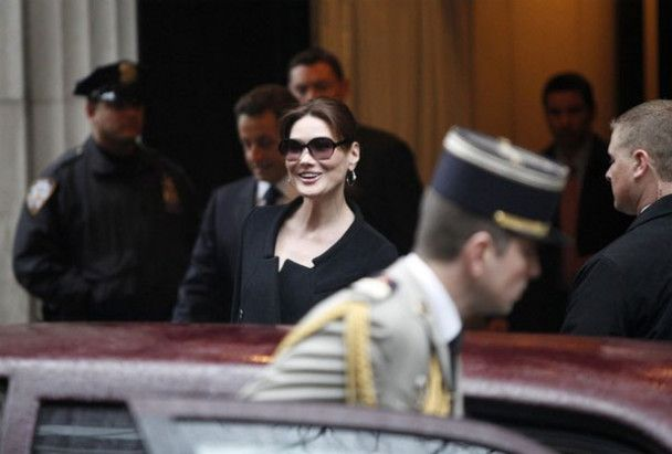 Романтичний Нью-Йорк для Саркозі та Бруні