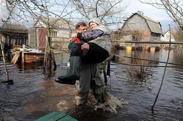 Весняна повінь у Білорусі