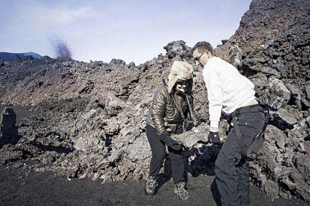 Романтична вечеря на вулкані