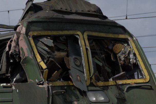 У Словаччині локомотив протаранив пасажирський потяг, є жертви