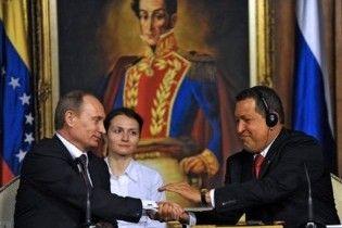Путін пообіцяв продовжити постачання зброї Венесуелі