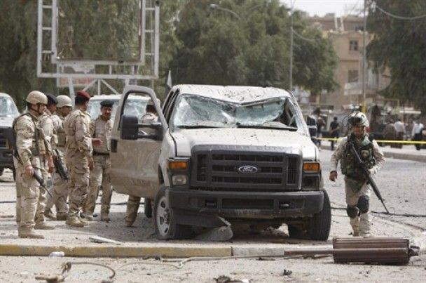 Теракти в Багдаді: пошкоджено будівлю посольства України