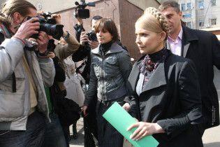 Тимошенко на допиті не назвала депутатів, які підкуповують суддів