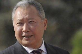 Урядові ЗМІ Киргизії: Бакієв знаходиться на півдні країни