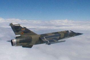 Під Орлеаном розбився винищувач Mirage F1
