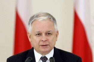На місці катастрофи Ту-154 знайдено тіло президента Польщі