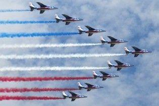 У Франції розбився літак відомої пілотажної групи
