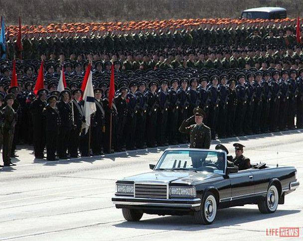 Репетиція параду Перемоги під Москвою