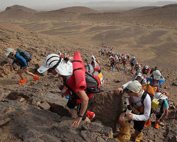 Піщаний марафон у Сахарі