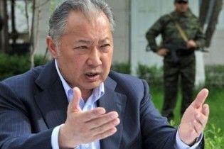 В Астані спростували інформацію про виліт Бакієва до Білорусії