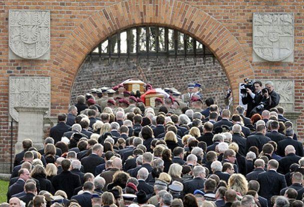 Прощання з президентом Качинським