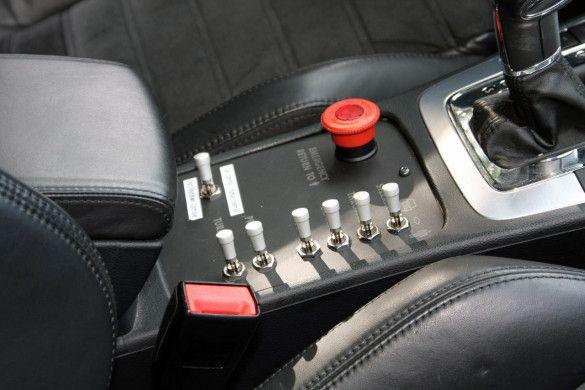 VW Passat з автопілотом