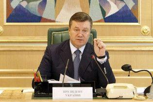 Янукович обурився на суддів, які замовляють собі на свята іноземних рок-зірок