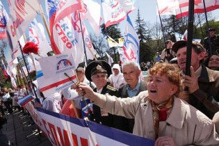 Проросійські активісти Криму не проти повернути Західну Україну Польщі