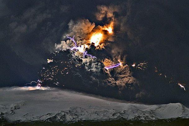 Вулкан, який паралізував Європу