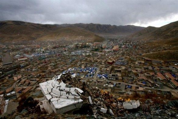 Землетрус в Китаї