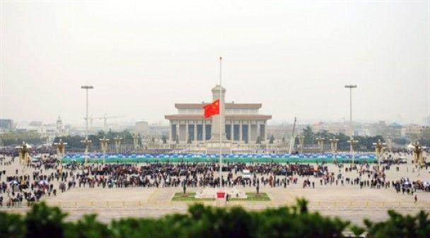 У Китаї загальнонаціональна жалоба за жертвами землетрусу