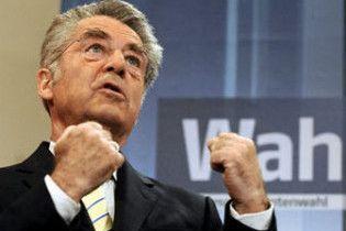 Президент Австрії Хайнц Фішер переобраний на другий термін