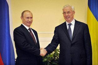 Азаров запевняє, що Росія знизить ціну газу