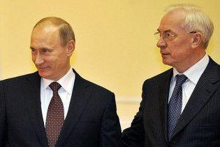 Азаров відправився до Путіна в Сочі