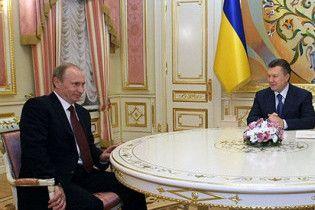 Путін привезе Януковичу дешевий газ за відмову від Європи
