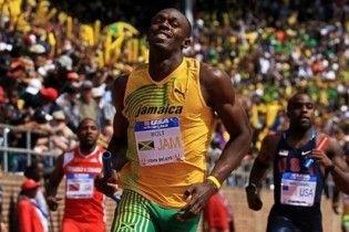 Болт встановив суперрекорд у бігу на 100 метрів
