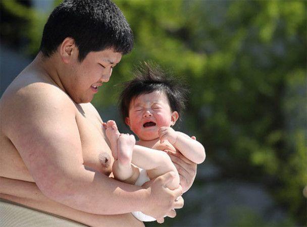 Японський фестиваль дітей, які плачуть