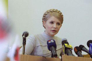 Тимошенко заявила про безрезультатність спілкування з Ющенком