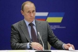 Путін побачив прорив у відносинах Москви і Києва