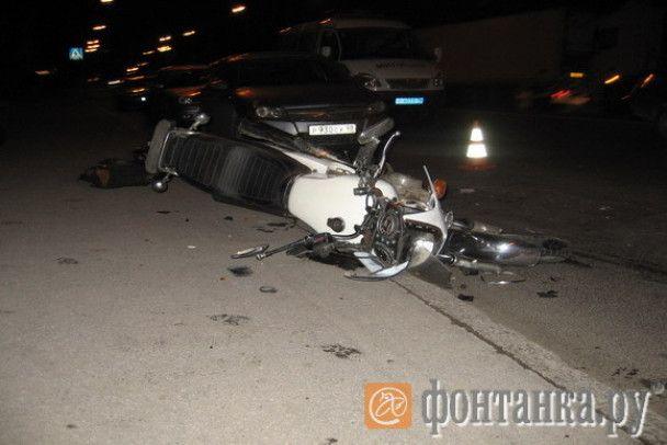 """Даішники збили мотоцикліста, побили його ногами і побажали """"здохнути"""""""