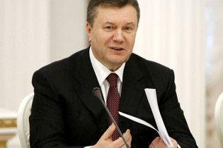"""Янукович звернеться до народу в палаці """"Україна"""""""