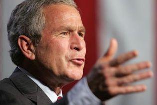 """""""Рекордний"""" рейтинг Буша"""