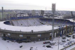 Суркіс пообіцяв здати стадіон у Харкові достроково