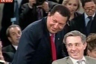 Чавес посварився з президентом Колумбії