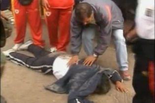 Вболівальники в Перу влаштували бійку на стадіоні (відео)