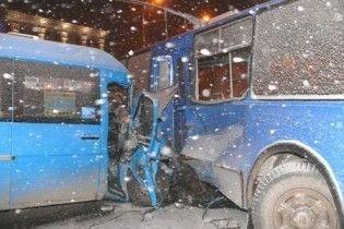 У Запоріжжі не розминулися тролейбус і маршрутка