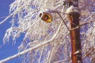Сніг залишив людей без електрики